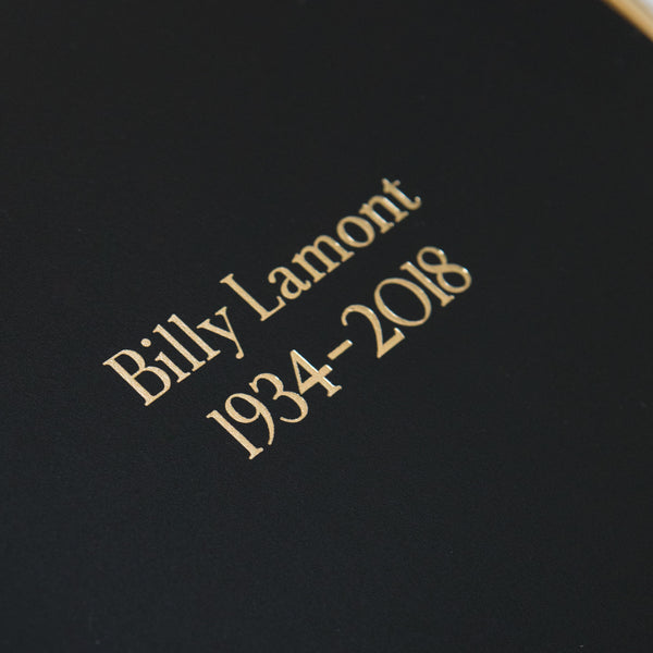 Large Leather Condolence Book
