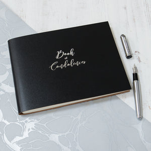 Book of Condolence - Calligraphy Font