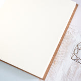 Personalised Leather Bound Wedding Guest Book