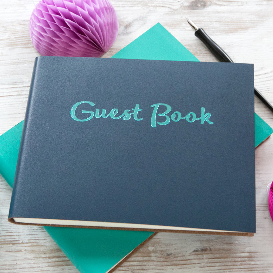 Personalised Party Guest Book