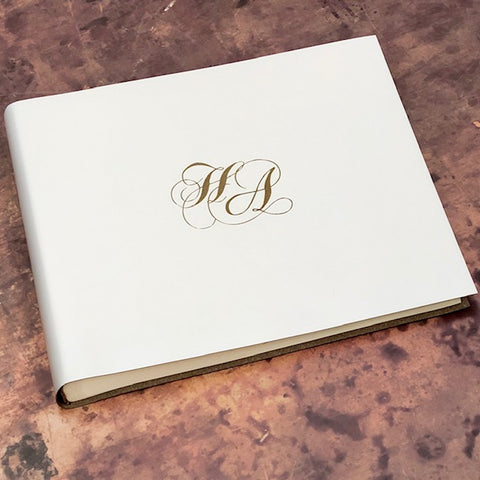 Album or Guest Book with your own Logo - Price on Application