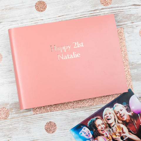 21st Leather Birthday Album BeGolden