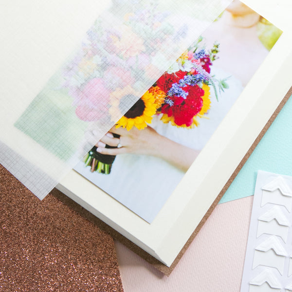 Ruby Wedding Album or Large Guest Book