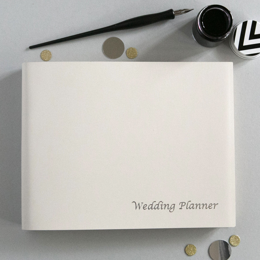 Leather Wedding Planner
