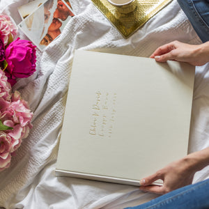 Beautifully Bespoke Large Wedding Album