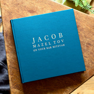 Photo Album for a Bar Mitzvah