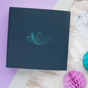 Personalised 40th Birthday Album