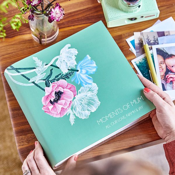 Special Edition Photo Album - Hand Painted by Sadie Sadie
