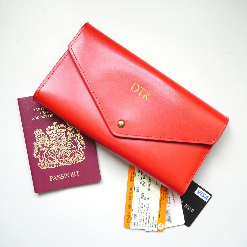 personalised-red-leather-travel-wallet-