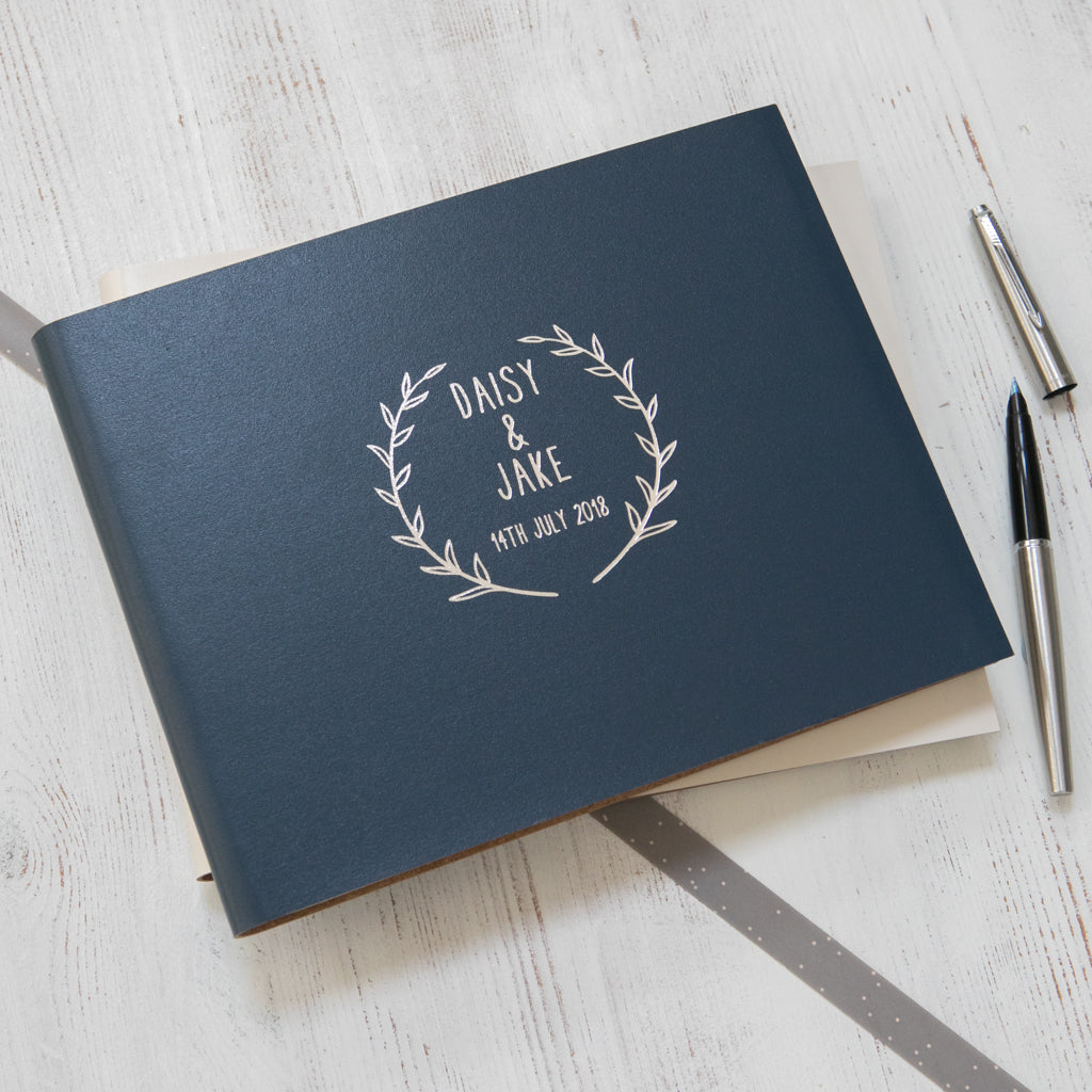 Wedding Photo Books Uk: Select Your Own Logo Guest Book Or Album
