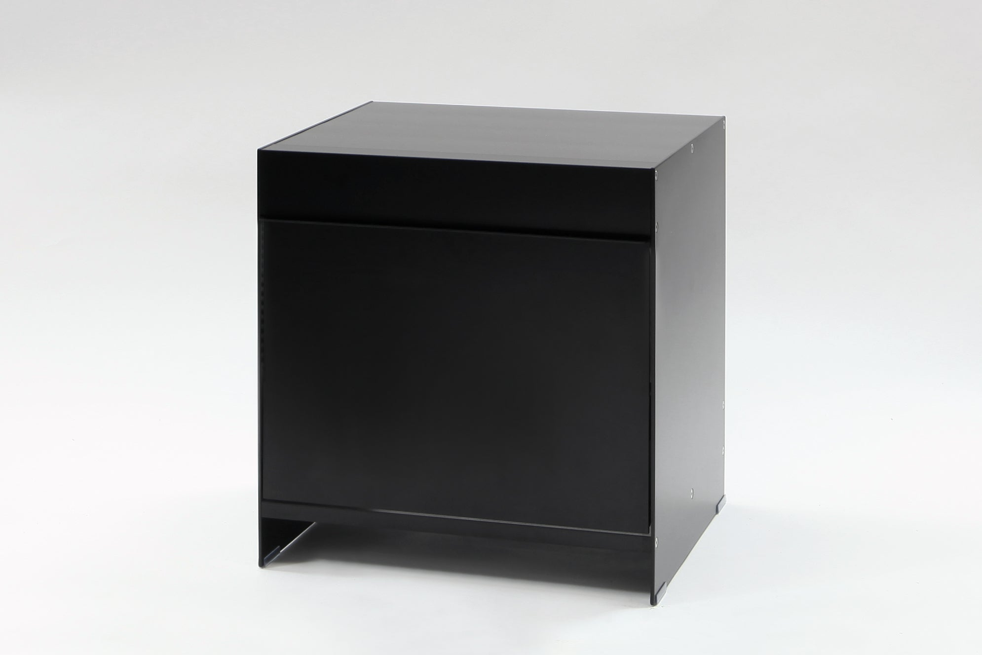 H1- FDD black bed side table