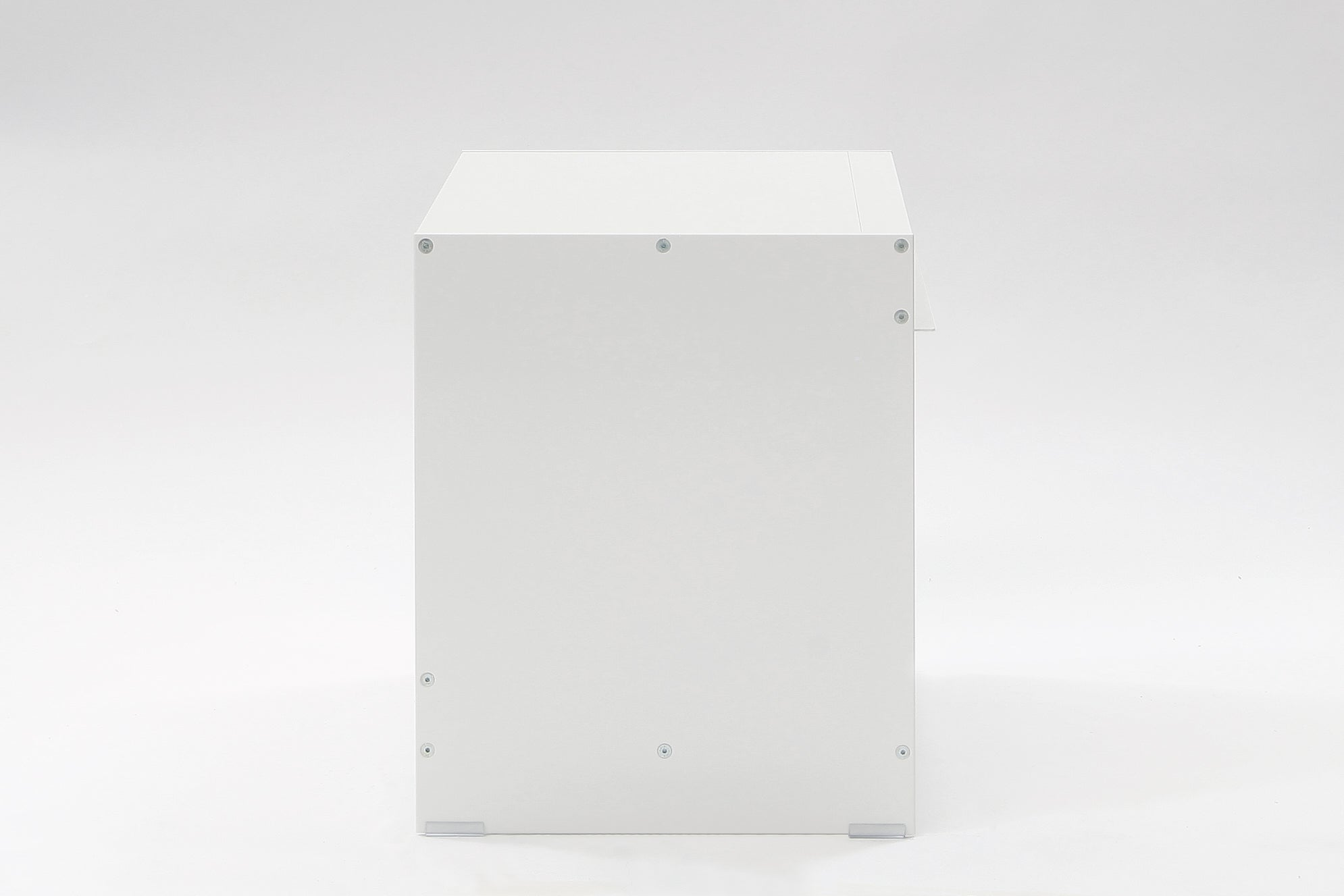 H1 Open Side Table White