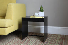 Black modern side table by ON&ON