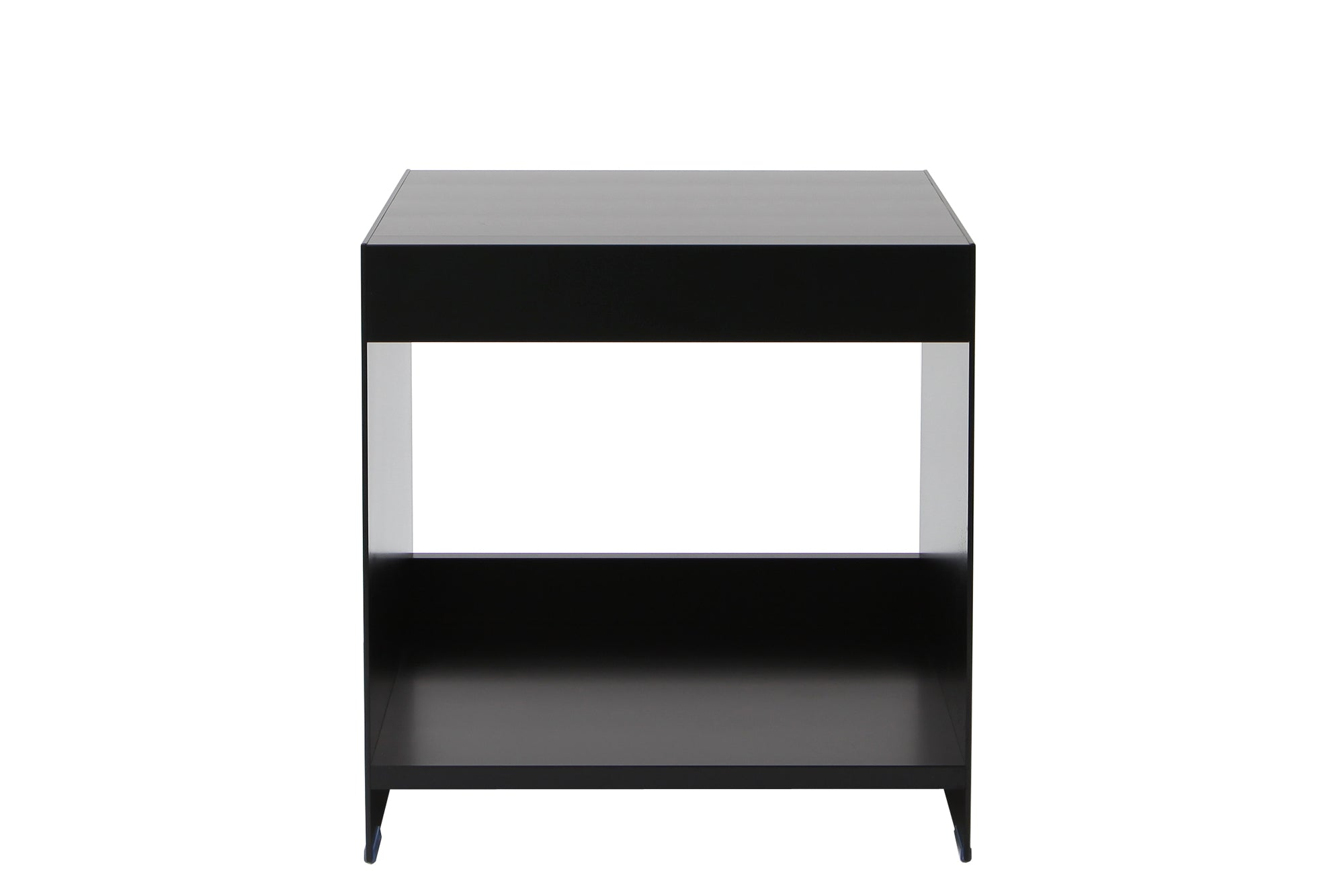 H1 Open Side Table Black