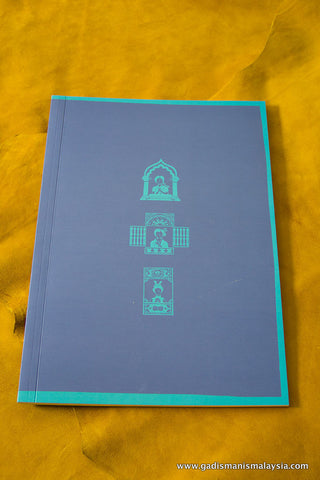 A4 Notebook (Refill only) - Blue