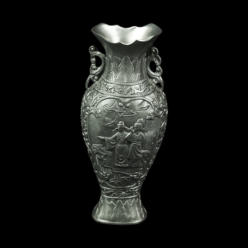 Antique Pewter Vase - DS1021S