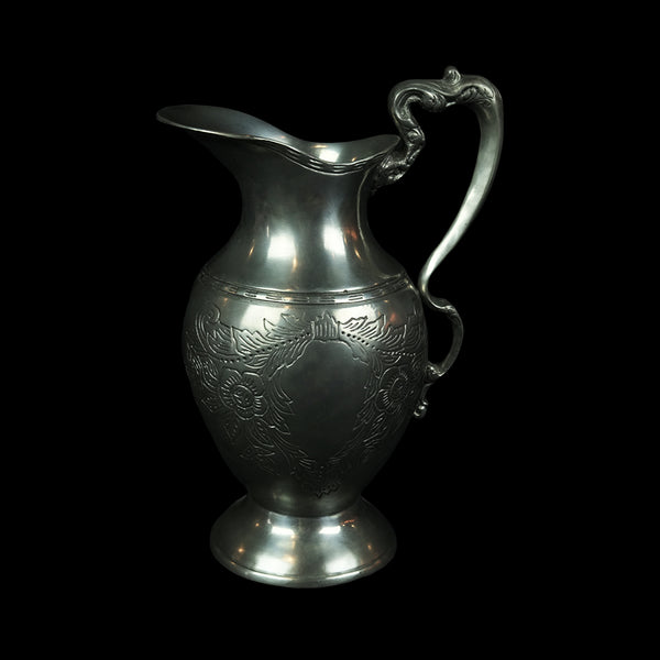 Antique Pewter Pitcher- DS515S