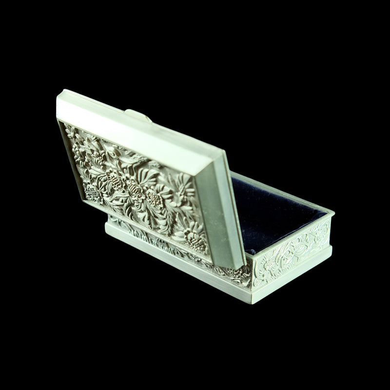 Pewter Jewellery / Trinket Box - PF011-0003