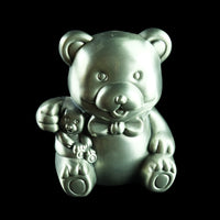 Pewter Coin Box (Bear) - PF013-0004