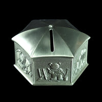 Pewter Coin Box (Hexagon) - PF013-0007