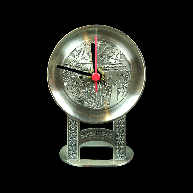 Pewter Table Clock - PF288S