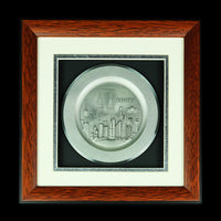 Pewter With Wood Frame (Malaysia landmark) - PF418S