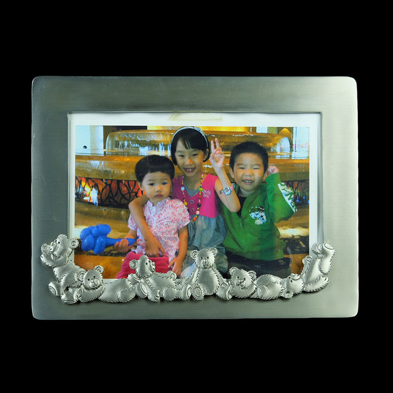 Pewter Photo Frame (Bear) - PF432s