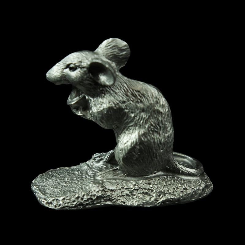 Pewter Figurine (Zodiac Rat/Mouse) - PF9614A