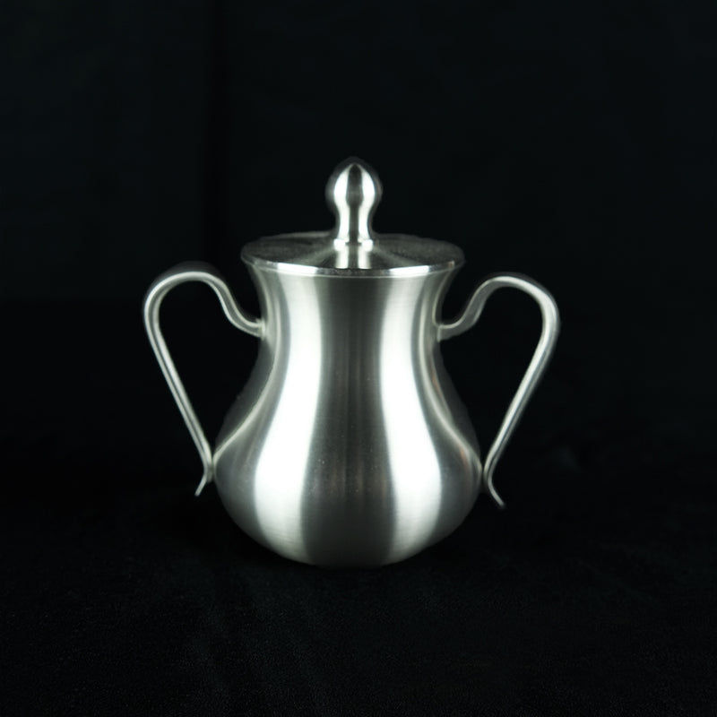Pewter Sugar Jug With Cover - PW3103