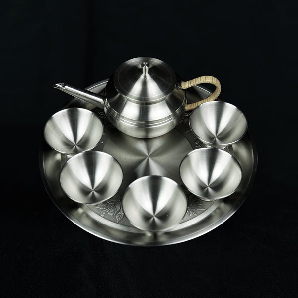 Pewter Tea Set - PW3130S