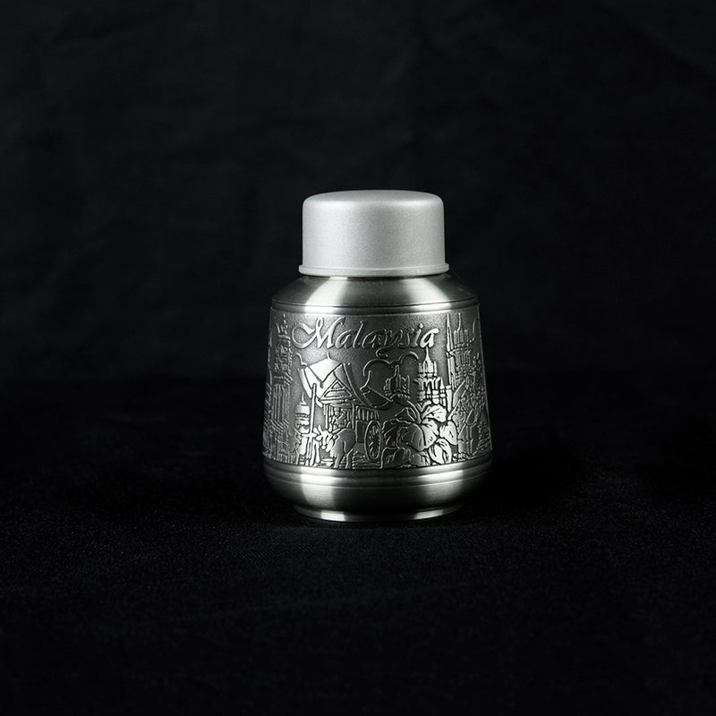 Pewter Tea Caddy- PW5533s