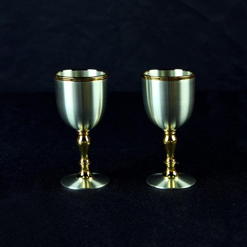 Pewter Goblet - PWG1494_2 (Twin Pack)