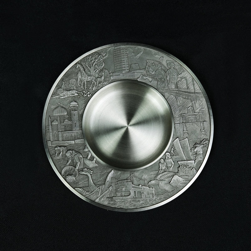 Pewter Plate - PWT426
