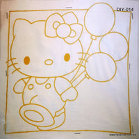Batik Coloring Set for beginners and children to draw batik