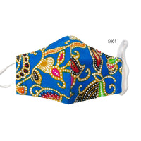Reusable Batik Face Mask with attractive design (S size for kids)