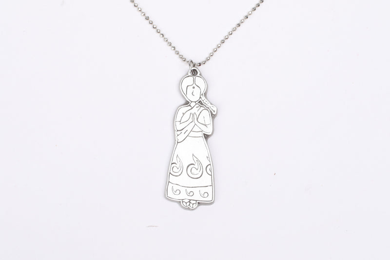 Pewter Pendants with necklace- Gowry