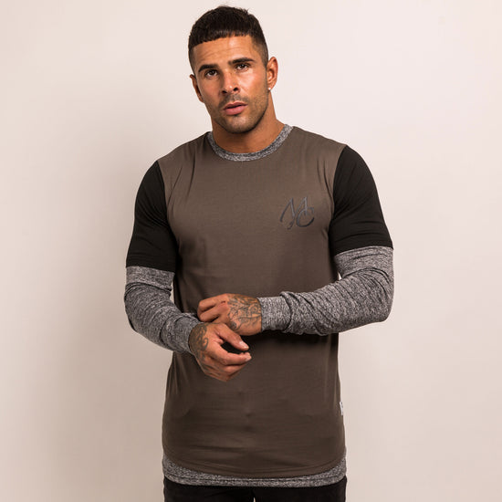 Evolution Long Sleeve T-Shirt - Khaki