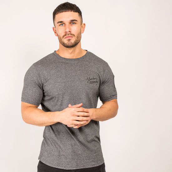 Westmont T-Shirt - Black/Grey