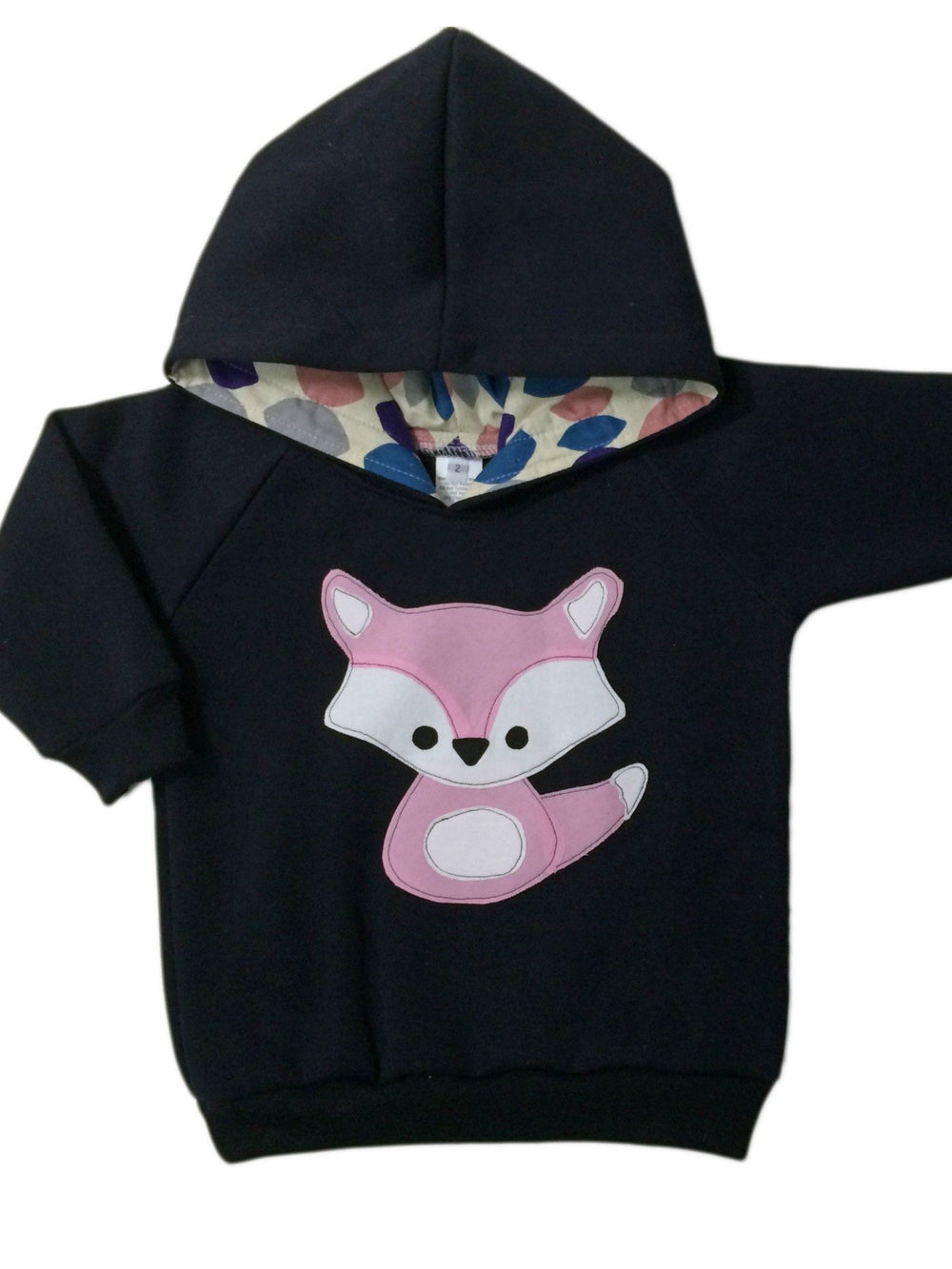 Hoodie | Miss Fox on Navy