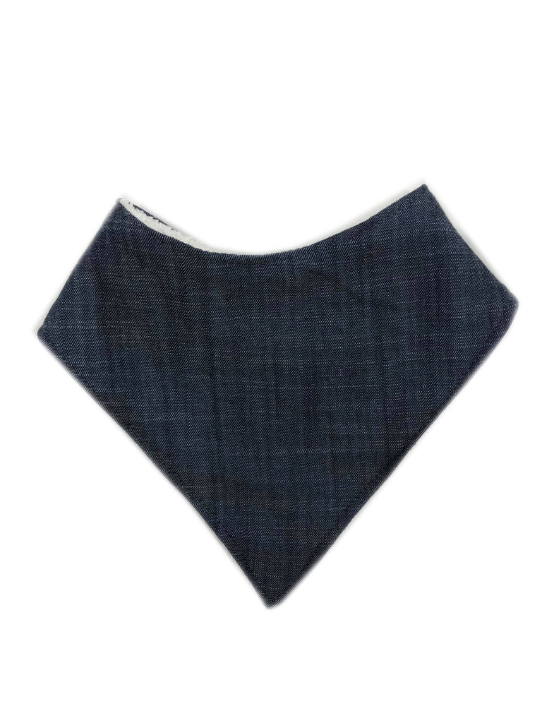 Bandana Bib | Dark Denim