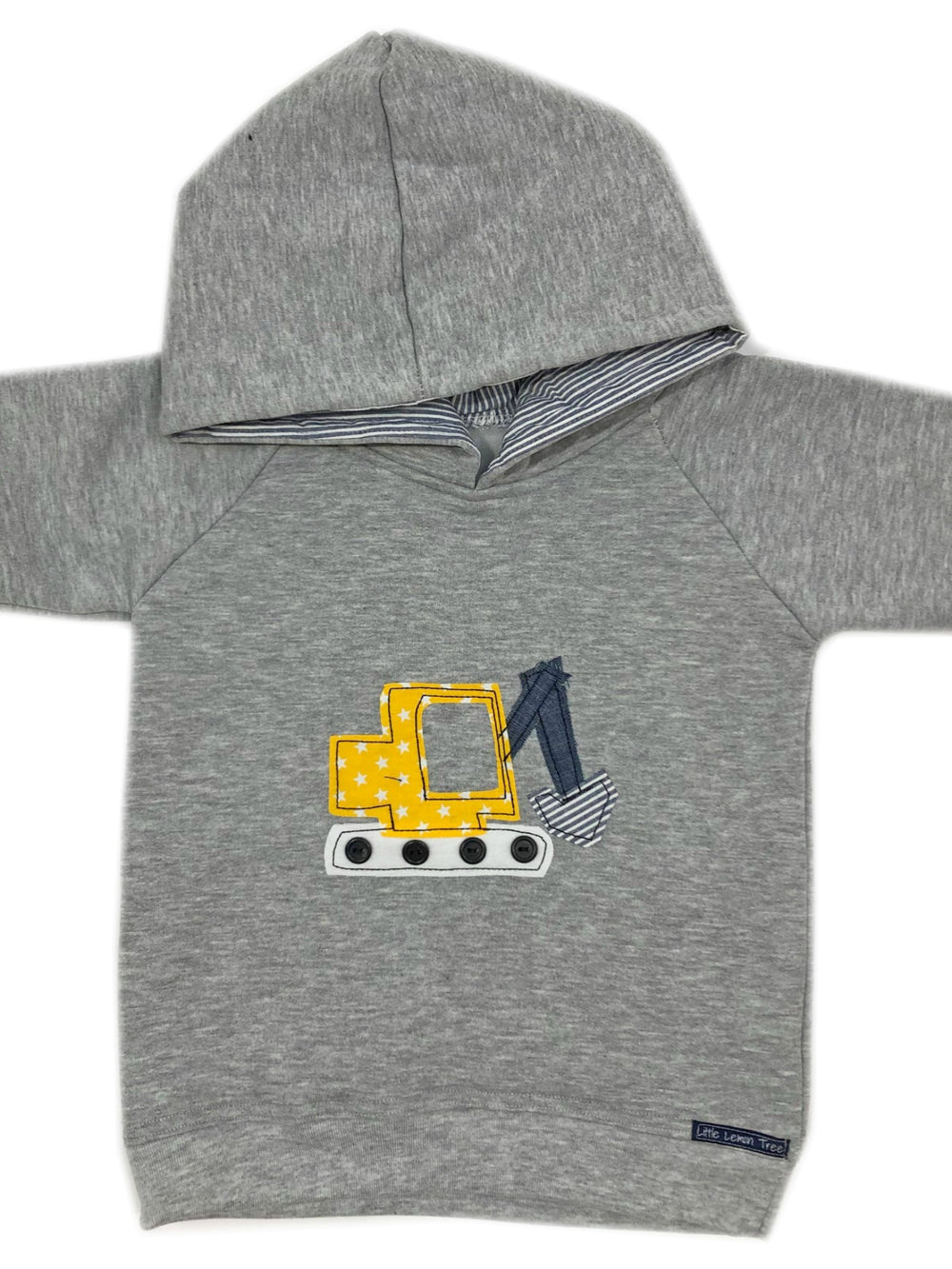 Hoodie | Digger on Light Grey