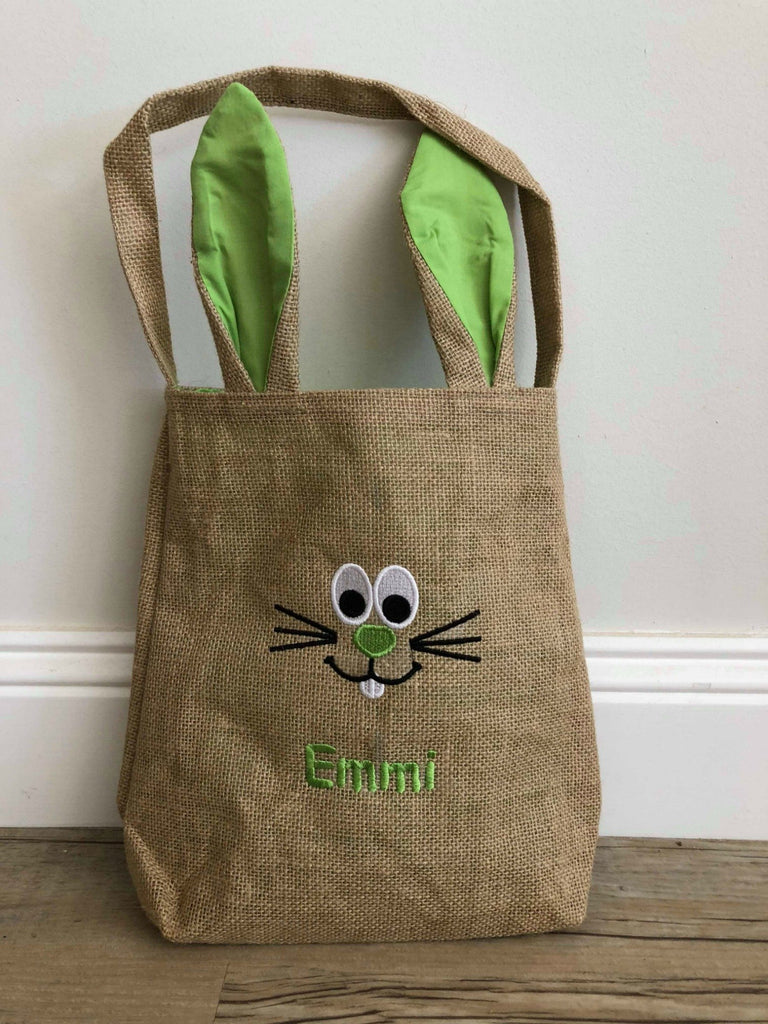 Personalised Hessian Easter Bags