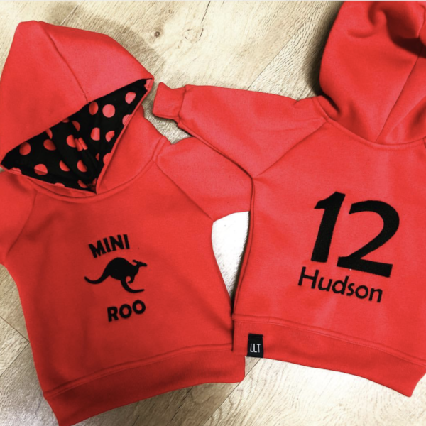 Mini Roo's Hoody