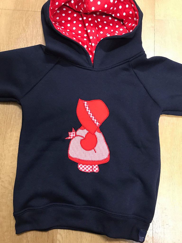 Hobby Doll Hoodie on Navy