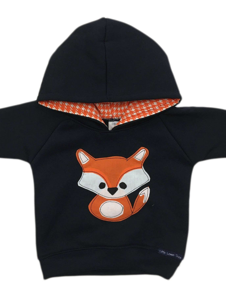 Hoodie | Mr Fox on Navy