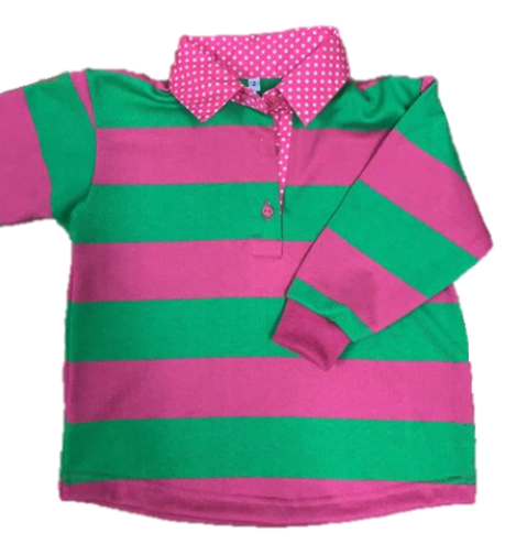 Swampcreek Rugby | Pink, Lime & White Combo