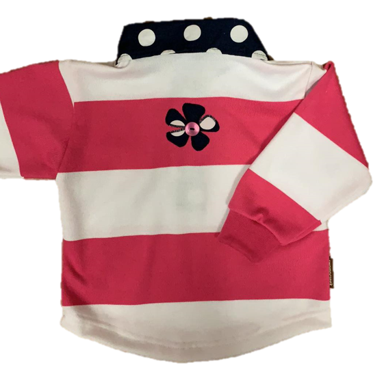 Swampcreek Rugby | Pink, White and Navy Combo