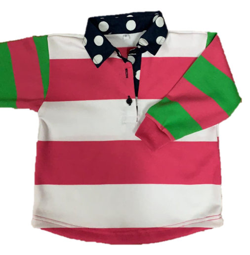Swampcreek Rugby | Pink, White, Lime and Navy Combo