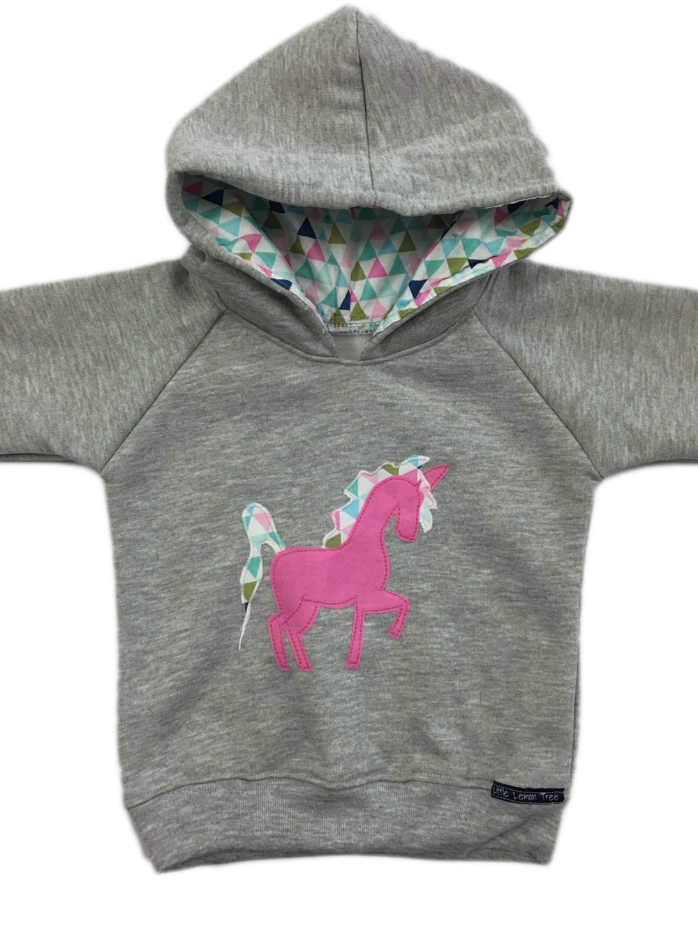 Hoodie | Unicorn on Grey