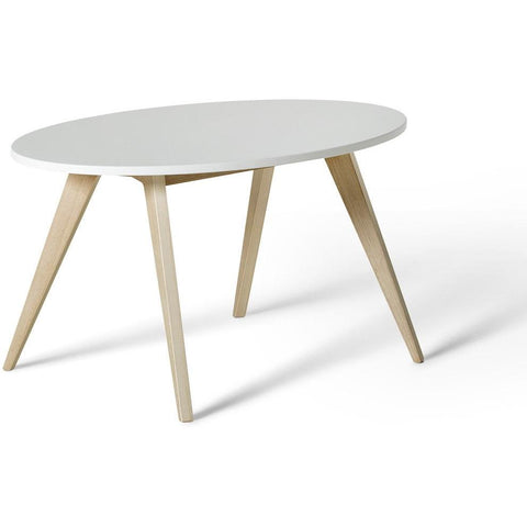 Pingpong, Tisch, weiss/Eiche, Wood Collection